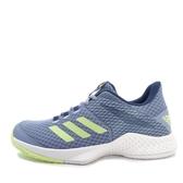 Adidas Adizero Club W [CM7741] 女鞋 網球 休閒 藍 黃 愛迪達