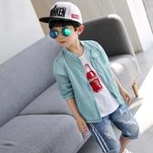 童裝男童防曬衣新款兒童外套夏季夏裝服透氣中大童韓版潮 9號潮人館