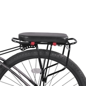 自行車後坐墊後座墊單車座椅電瓶車通用配件【英賽德3C數碼館】