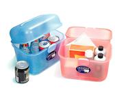 佳斯捷雪梨蝴蝶箱置物箱收納盒收藏盒整理盒文具用品手提箱學校8656  通