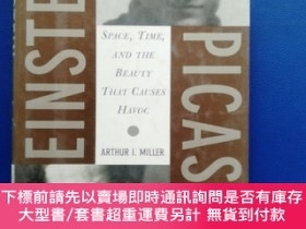 二手書博民逛書店EINSTEIN,罕見PICASSO Space ,Time, and the Beauty That Cause