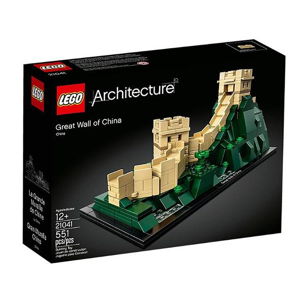 【LEGO 樂高 積木】21041 世界建築 Architecture 萬里長城(3) The Great Wall of China