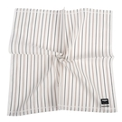 renoma簡約直紋男士純綿帕巾(白色)989063-238