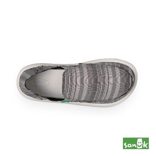 SANUK  復古牛仔條紋懶人鞋-男款1013068 GVDS(灰色)