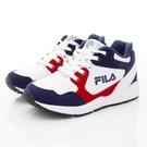FILA頂級童鞋 高足弓護踝機能運動鞋 EI08T-123藍白紅(中大童段)