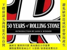 二手書博民逛書店【罕見】2017年 50 Years of Rolling St