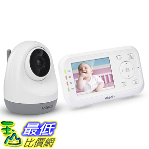 [8美國直購] 嬰兒監視器 VTech VM3261 2.8吋 Digital Video Baby Monitor Pan Tilt Camera, Full Color