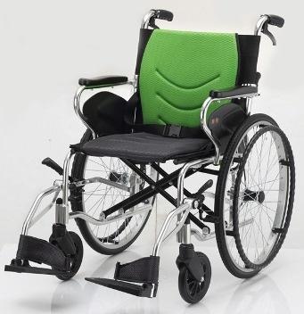 均佳 鋁合金掀腳輪椅 JW-450P