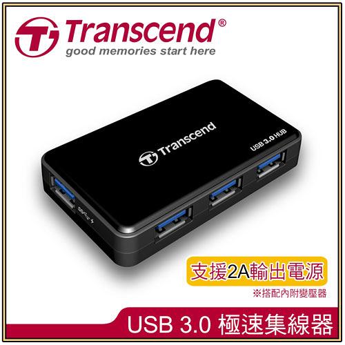 【創見】TS-HUB3K 4-Port 極速集線器USB3.0