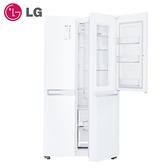 【現貨供應中 私訊享優惠價】[LG 樂金]821公升WiFi門中門對開冰箱/晶鑽白 GR-DL88W