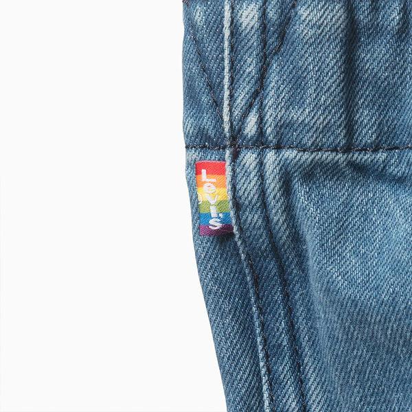 [買1送1]Levis 托特包 / 牛仔縫線 / Pride限量系列