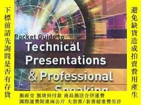 二手書博民逛書店罕見Pocket Guide To Technical Pres