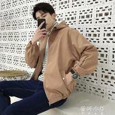 風衣 夾克男男士外套男韓版修身個性帥氣潮流風衣棒球服男 蓓娜衣都