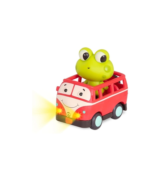 《 美國 B.toys 感統玩具 》迷你車長 - 芙洛克與可兒 / JOYBUS玩具百貨