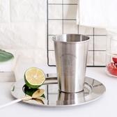 北歐風 不鏽鋼水杯 304不鏽鋼 不鏽鋼杯 水杯 隨手杯 隨行杯 冷水杯 環保杯 咖啡杯【歐妮小舖】