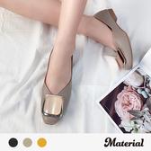 包鞋 大方扣平底包鞋 MA女鞋 T3284
