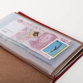 【BlueCat】透明磨砂PVC拉鍊收納袋 (護照款)