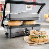 三明治機 多功能牛排機家用帕尼尼機三明治機煎烤機漢堡機igo 俏女孩