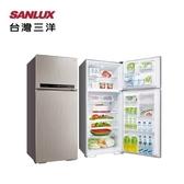【三洋家電】480L 直流變頻雙門電冰箱 能源效率1級《SR-C480BV1A》全新原廠保固 (閃耀銀Q)