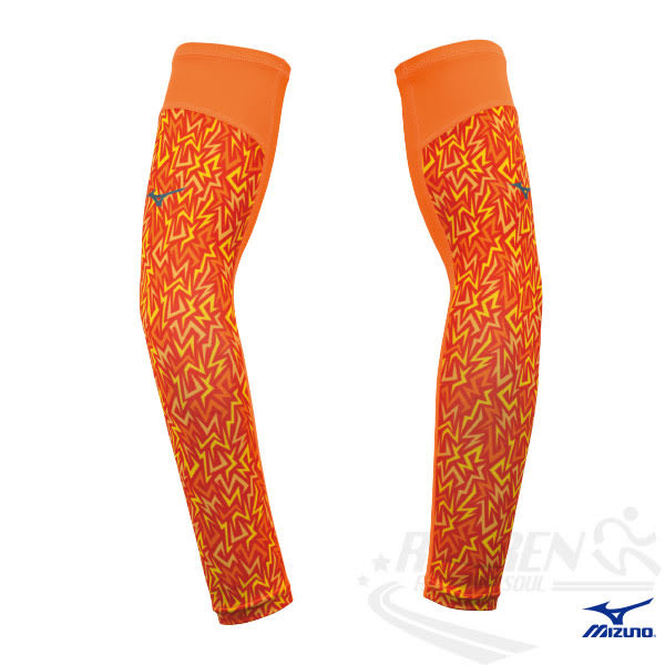 MIZUNO美津濃 新款防曬袖套 (4色) 防曬必備 昇華印花