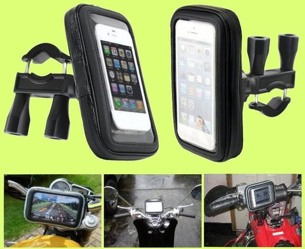 iphone6 iphone 6 plus htc m9 e9 one note4 garmin 1690 2455皮套手機套防水殼機車衛星導航支架摩托車架