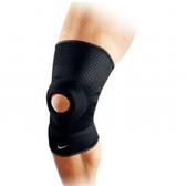 Nike Pro Open Patella [N9337014020] 運動 防護 支撐 開洞式 護膝 黑 M