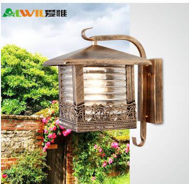 設計師美術精品館愛惟歐式現代戶外壁燈庭院燈飾花園燈具簡約創意景觀燈室外燈B167