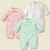 寶寶 連身衣【GD0004】DL四季長袖  純棉 嬰兒 連身衣 兔裝 寶寶服 新生兒服 (50-70碼) 紗布衣