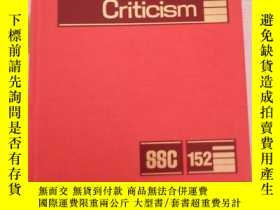 二手書博民逛書店Short罕見Storg Criticism 短評批評Y1676