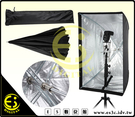 ES數位 離機閃燈 60x90CM 方形 快速柔光箱 傘式反射柔光箱 閃燈無影罩  反射傘 柔光傘 閃光燈 60x90