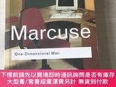 二手書博民逛書店One-Dimensional罕見Man 單向度的人 英文原版Y324927 Marcuse Rountdge