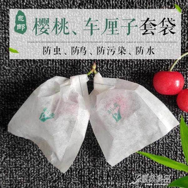 防蟲果網 櫻桃套袋車厘子草莓果袋小梨袋紙袋防蟲防鳥防裂【快速出貨】
