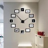 鐘錶/掛鐘 設計感現代簡約時尚客廳掛鐘北歐創意個性DIY鐘錶靜音石英鐘掛錶 酷我衣櫥