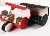 手表盒PU皮革禮品盒便攜圓筒手表手鏈盒戒指盒igo「Top3c」