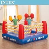 INTEX NO1大型拳擊場-附4個手套(48250)+送110V幫浦