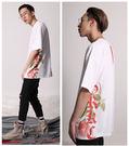 IMPACT GRKC Tee 短袖 雙側玫瑰 經典 白 紅 男女可穿 中國有嘻哈