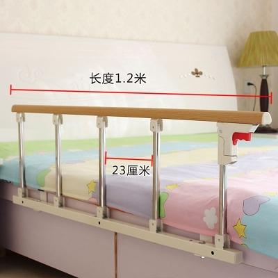 蝶宇加厚防掉床欄桿老人扶手兒童防摔護欄圍欄床邊檔板可折疊通用 一木良品