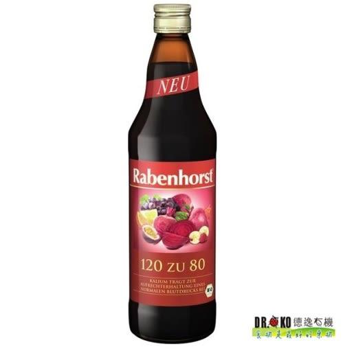 DR.OKO德逸 有機健康120/80綜合果汁 125ml/瓶