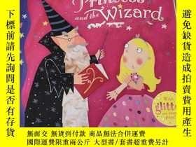 二手書博民逛書店The罕見princess and the wizard:公主與巫師Y212829