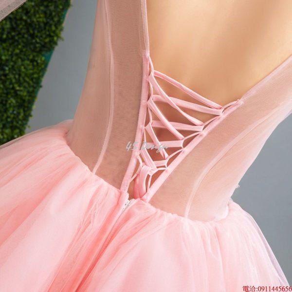 (45 Design)    7天到貨 客製化顏色大尺碼訂做訂做 日韓婚紗禮服 高級訂製服 連身裙 洋裝媽媽裝3