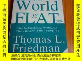 二手書博民逛書店罕見世界是平的.英文Y163486 托馬斯