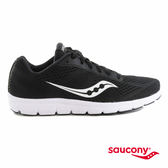 SAUCONY IDEAL 女性專屬運動休閒鞋-黑x白