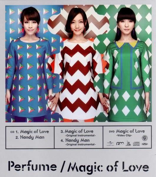 Perfume Magic of Love CD附DVD(購潮8)