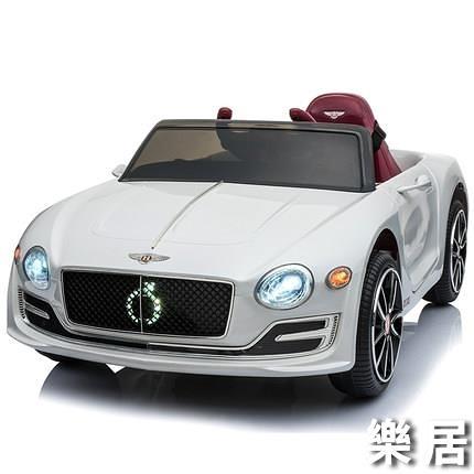 兒童電動車 四輪汽車男女小孩遙控玩具車嬰幼兒可坐人寶寶賓利童車JY 快速出貨