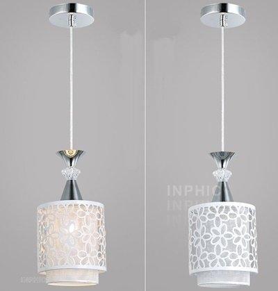 INPHIC首選燈具-餐廳吊燈/led現代簡約吊燈/個性創意田園飯廳吊燈/單頭吧臺臥室吊燈