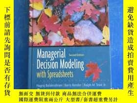 二手書博民逛書店managerial罕見decision modeling with spreadsheetsY172244