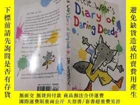 二手書博民逛書店little罕見wolf s diary of daring deeds:小狼的勇敢行為日記.Y200392
