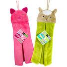 好好用立體造型擦手巾/綠羊咩咩.粉紅豬/K7773.K7774(約32*38cm)