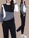 運動套裝 運動套裝女春秋季新款2021年早秋裝時尚減齡洋氣休閒服衛衣兩件套 伊蘿