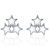 925純銀耳環(耳針式)-氣質時尚獨特生日情人節禮物女飾品73al69[巴黎精品]